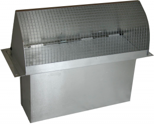 STAINLESS STEEL RECTANGULAR WALL CAP