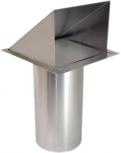Stainless Steel Wall Cap