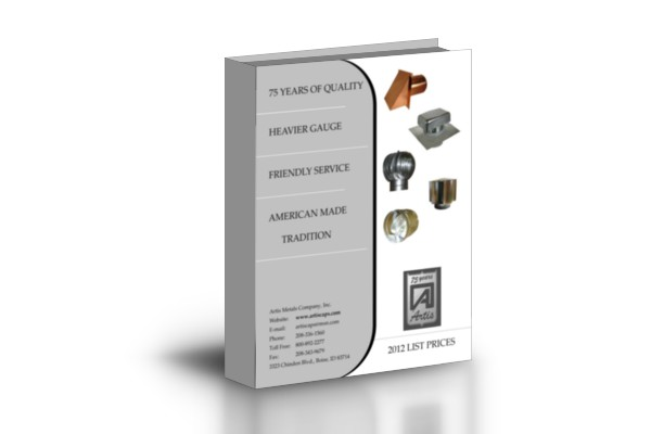 Artis Metals Catalog