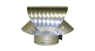 Wind directional caps, rain caps, vacuum caps & gas vent caps in aluminum, steel, copper & stainless