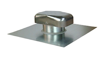 High Quality roof caps for exhaust, intake or passive venting. Available with screens, dampers, and hard connect