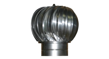 Turbine and gravity ventilators for commercial or residential applications. Roof Vents in Galvanized, Aluminum and Stainless Steel